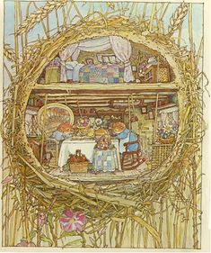 Brambly Hedge, I love these books, stories, tea cups and  illustrations