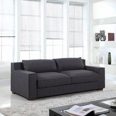 Lenox Premium Linen Sofa   Overstock.com Shopping - The Best Deals on Sofas & Loveseats