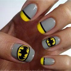 15 Great Batman Nail Art Designs for Kids