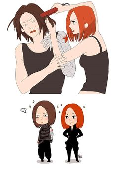 Black Widow has a plan for dealing with the Winter Soldier.