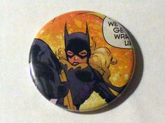 "Comic Book 1.5"" Button// Batgirl (Stephanie Brown), $1.00"