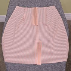 Creating a Lined Lapped Zipper