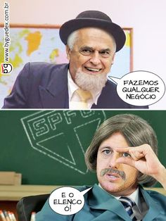 Escolinha do prof. Rogério #byguedex #charge #spfc