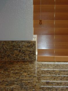 2 Inch Wood Blinds With Tile Cutout