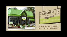DeKalb County's Farmer D Organics, an intown business near the intersection of Briarcliff and Lavista roads that caters to urban farmers or anyone yearning to grow their own food, will have their products featured in Williams Sonoma's catalog, in stores, and online.