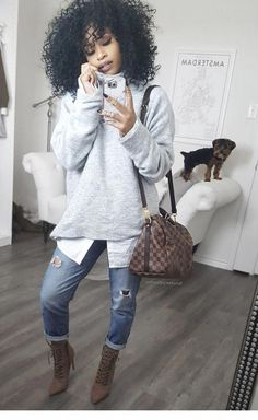 """Comfy Jean Outfits Bequeme Jean-Outfits """"pinner"""": {""""username"""": """"tricksbeautyml"""", """"first_name"""": """"Beauty Tips & Tricks"""", """"domain_url"""": """"tricksbeauty. Black Girl Fashion, Look Fashion, Fashion Outfits, Womens Fashion, Japan Fashion, India Fashion, Fashion 2017, Street Fashion, Fashion Online"""
