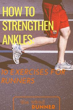 Doing exercises to strengthen your ankles allows you to increase agility and maneuverability while o Running Injuries, Running Workouts, Running Humor, Workout Tips, Ankle Injuries, Nike Workout, Half Marathon Training, Marathon Running, Triathlon Training