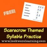 http://www.lookwerelearning.com/2015/09/scarecrow-syllables-for-second-grade/