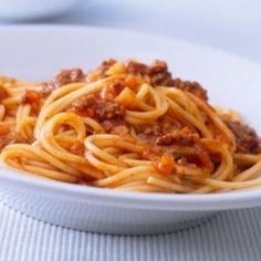Recette des Spaghettis à la bolognaise