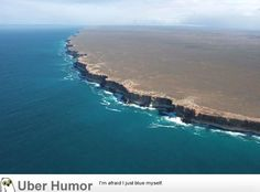 Bunda Cliffs of Australia