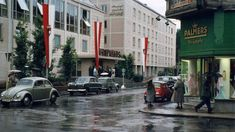 Amazing Pics Capture Street Scenes of Salzburg in the Early 1960s ~ Vintage Everyday Baroque Architecture, Amazing Pics, Salzburg, Capital City, Colorful Pictures, Alps, 18th Century, Austria, 1960s