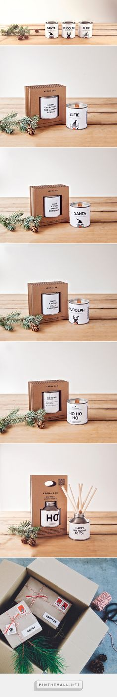 Christmas Gifts From Aroma Lab- Packaging of the World - Creative Package Design Gallery - http://www.packagingoftheworld.com/2016/11/christmas-gifts-from-aroma-lab.html