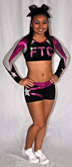 awesome Girls Cheer Apparel