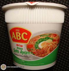 Meet The Manufacturer: #1267: Mi ABC Mi Cup Rasa Soto Ayam Chicken Soto Flavour | The Ramen Rater