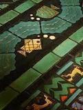 Bok Tower floor tiles by JH Dulles Allen of Enfield Tile Works. Built in 1921.