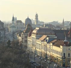 Oradea city « Romania pictures ~ a beautiful corner of Europe Modern City, City Architecture, Historical Sites, Cool Places To Visit, Beautiful Landscapes, Paris Skyline, Europe, Travel, Cities