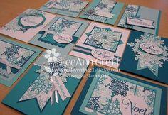 One Sheet Wonders Card Making | Found on flowerbug.typepad.com