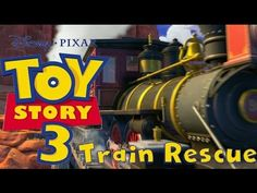 Toy Story 3 Game - Train Rescue - Sheriff Woody - Buzz Lightyear