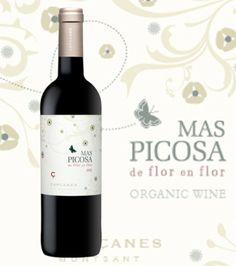 mas_picosa_capçanes #wine #label  www.prettywines.com