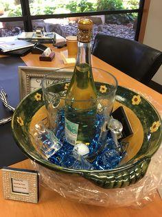 Wine & Glass Bowl Basket