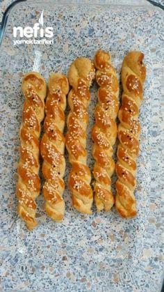Crunchy Stick gesalzen – My Tartessales Cookie Recipes, Snack Recipes, Snacks, Vegan Recipes, Yummy Recipes, East Dessert Recipes, Turkish Recipes, Ethnic Recipes, Tasty