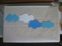 Cloud bow wrapping presents