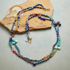 DOUBLE RAINBOW NECKLACE: View 2