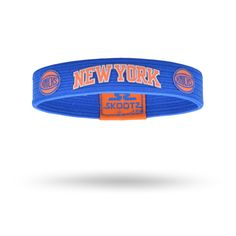 Shop for New York Knicks NBA wristbands and fan gear. Find your teams NBA bracelets and gear today! www.SkootZ.com