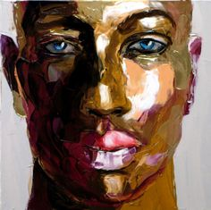 Here new photopaint of french artist Françoise Nielly. Enjoy Do you remember Photopaint by Françoise Nielly – Part 1 ? Don Corleone, L'art Du Portrait, Afrique Art, African American Art, Gay Art, Acrylic Art, Black Art, Love Art, Amazing Art