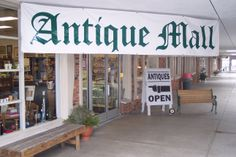 Antique Malls and Flea Markets