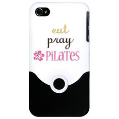 Toh Querendo: Pilates iPhone Case