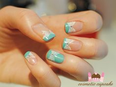 Cosmetic Cupcake: Tiffany & Co manicure - take 2
