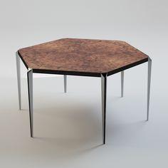 HEXAGON Table by Ekaterina Elizarova