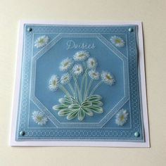 Hobbies And Crafts, Crafts To Make, Polymer Clay Fairy, Parchment Cards, Clay Fairies, Embossed Cards, Card Patterns, Paper Quilling, Handmade Crafts
