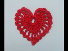 This video crochet tutorial will help you learn how to crochet a Heart. www.madebyfate.etsy.com Facebook Page: https://www.facebook.com/Madebyfate Twitter: s...