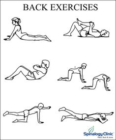 Exercises and Stretches to alleviate Morning Back Pain:  1. Single Knee to Chest 2. Double knee to chest 3. Crucifix Stretch 4. Lion Stretch 5. Cross Body Stretch 6. Side Stretch 7. Neck Stretch  #healthtips #backpain #stretchesforbackpain