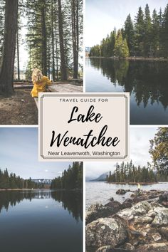 Travel Guide for Lake Wenatchee and the surrounding areas including Leavenworth and Lake Chelan, Washington. A must for the travel adventurer in you! The Pacific Northwest is beautiful. Wenatchee Washington, Leavenworth Washington, Oregon Travel, Travel Usa, Hiking Guide, Travel Guide, Cool Places To Visit, Places To Go, Scenic Photography