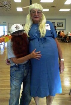 This costumed couple.   24 Photos Of Seniors Who Are Young At Heart