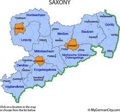Saxony Region of Germany - Bing images