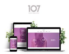 "Check out new work on my @Behance portfolio: ""107 Beauty Bar & Spa Web Design"" http://be.net/gallery/51958413/107-Beauty-Bar-Spa-Web-Design"
