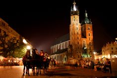 Krakow - What a beautiful city. You see lots of churches when travelling europe but the inside of St Marys Basilica is a stand out