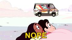Greg: whadda ya think garnet? :D Garnet: X/    *does this*