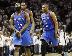 half off 5b0db 937d3 James Harden, Kevin Durant and Russell Westbrook