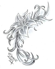 Flower Designs For Tattoo Hunter
