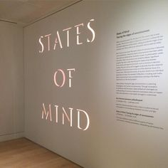 States of mind – An exploration into the experience of human consciousness.