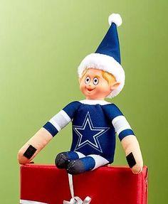 NFL Football Christmas Team Elves Elf on a Shelf-16 Different Teams