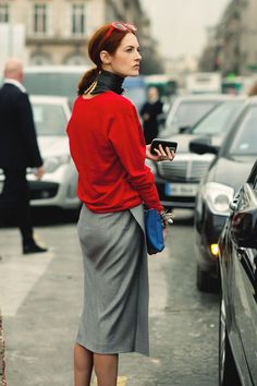 Taylor Tomasi Hill. Skirt, color, proportion