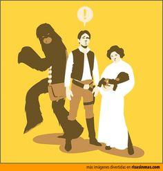 Algo va mal, Han.