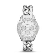 Fossil Stella Multifunction Stainless Steel Watch| FOSSIL® Watches