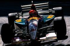 1995 GP Monaco (Eddie Irvine) Jordan 195 - Peugeot